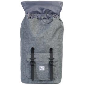 Herschel Little America Backpack raven crosshatch/black rubber